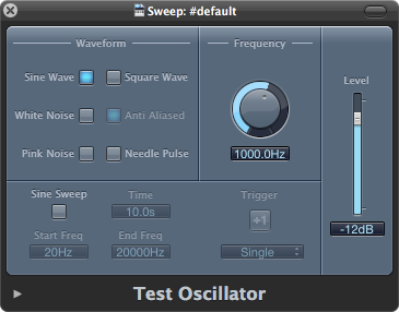 Logic Test Oscillator